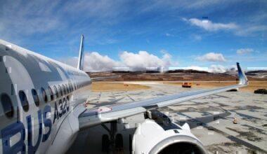 A320neo at Daocheng Yading Airport 2