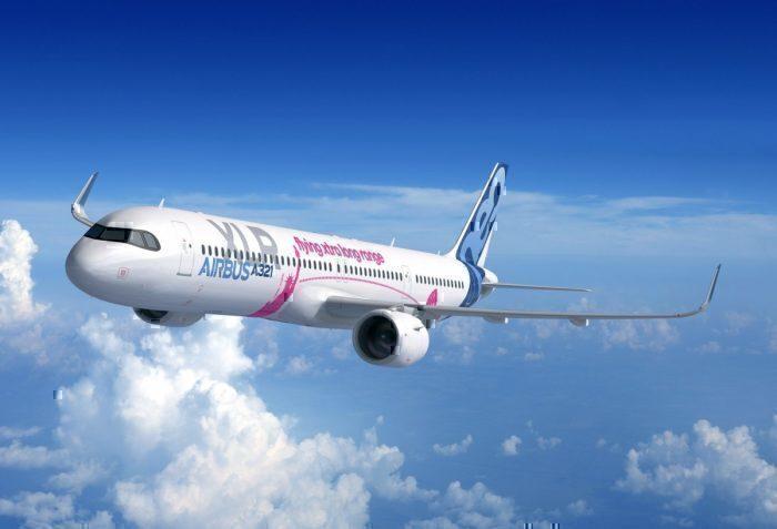 Airbus A321XLR aircraft