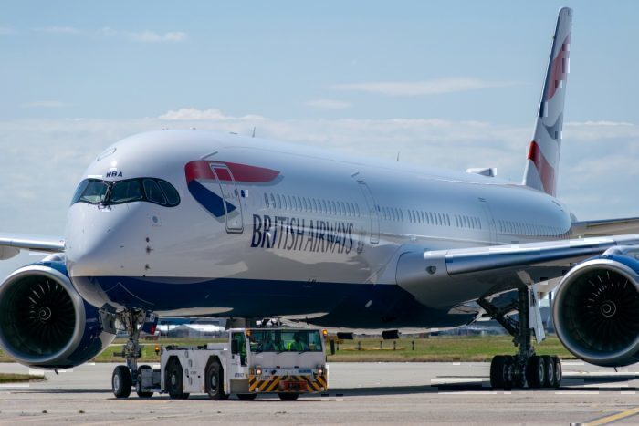 British Airways, United States, Airbus A350