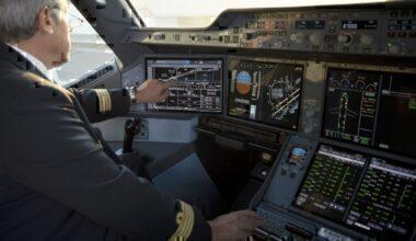 Airbus A350 Touchscreen