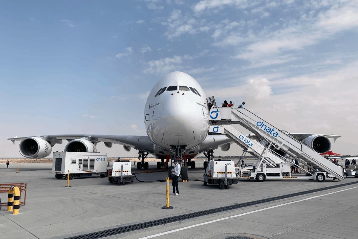 Emirates, Airbus A380, Dubai