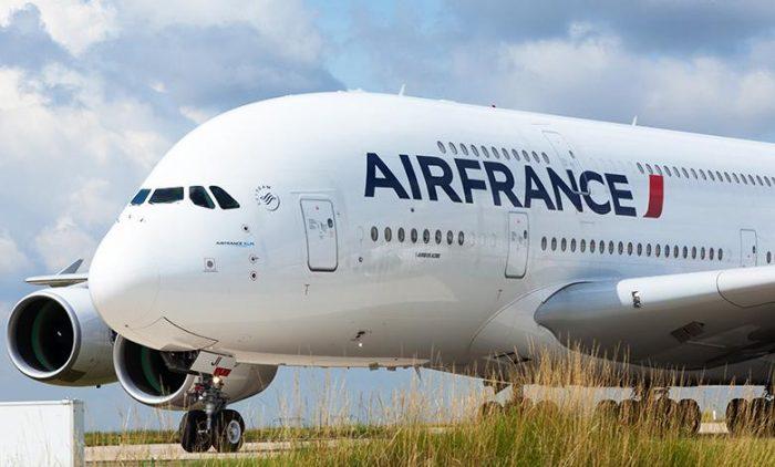 Air France A380 Side