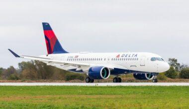 Delta Air Lines A220-100