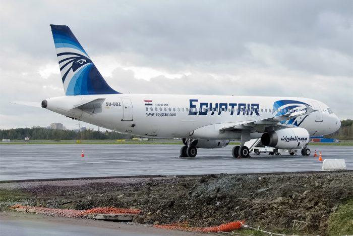 EgypyAir Aircraft