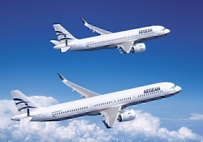Aegean Airlines Takes Delivery Of Its First A320neo