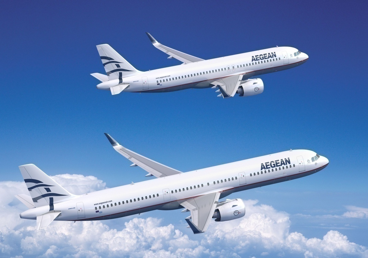 Aegean Airlines Takes Delivery Of Its First A320neo - Simple Flying