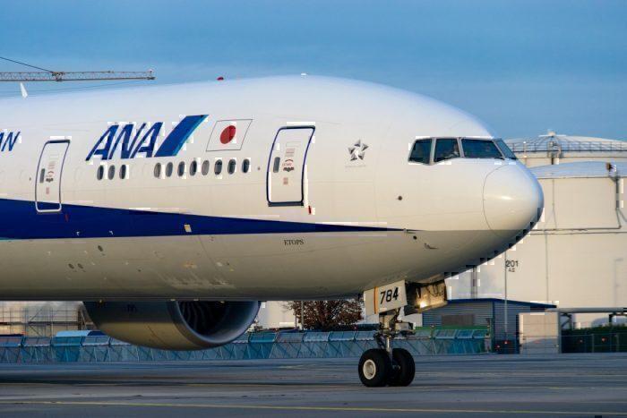 ANA, Boeing 777, Business Class, Frankfurt