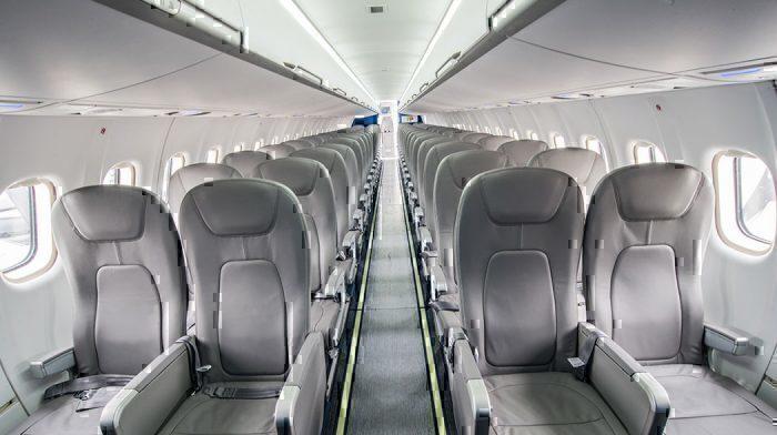 inside an ATR 72