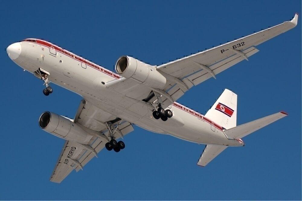 Air Koryo TU 204