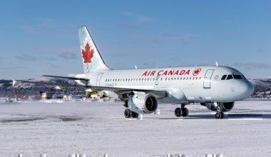 Photo Air Canada SNow