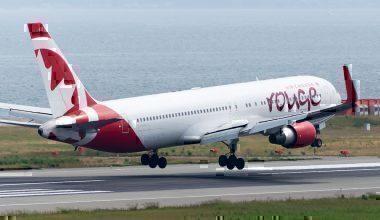Air Canada Rogue take off