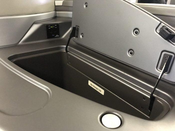 United Polaris 777 storage