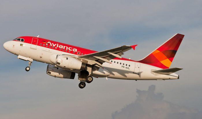 Avianca A318 Plane