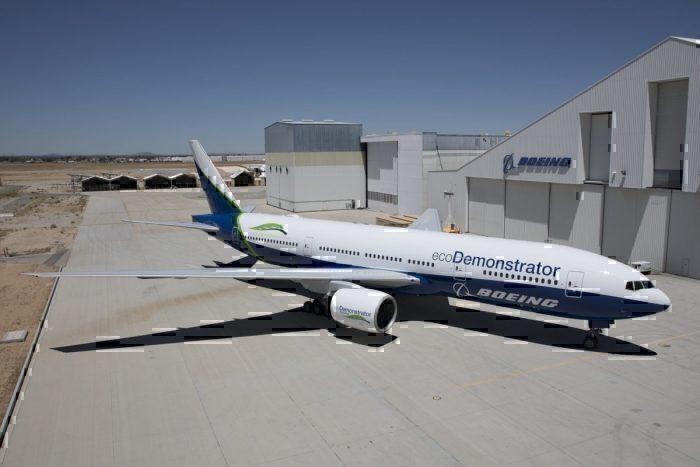 Boeing 777 ecoDemonstrator. Foto: Boeing