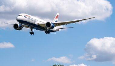 British Airways, Boeing 787, Guide