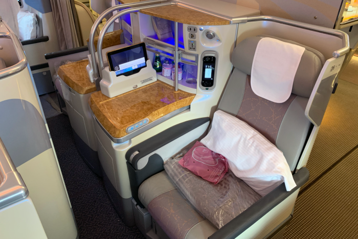Emirates, Business Class, Airbus A380