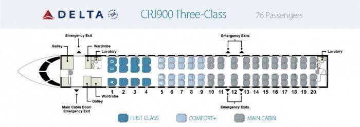 Delta CRJ-900