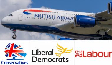 British Airways UK politics