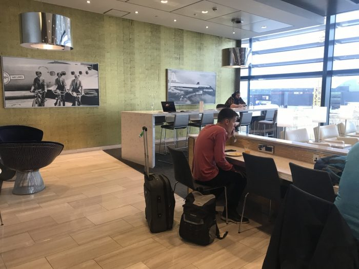 United Club Heathrow Lounge
