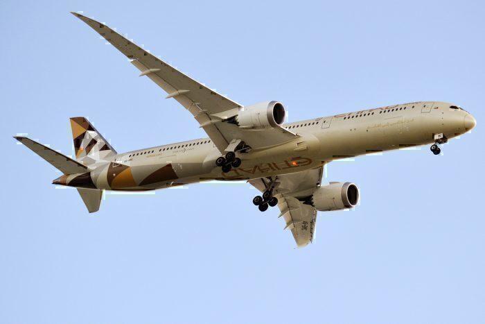 Etihad Airways, A6-BMC, Boeing 787-10 Dreamliner
