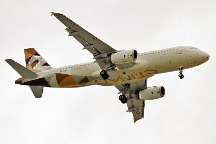 Etihad Airways, A6-EIH, Airbus A320-232