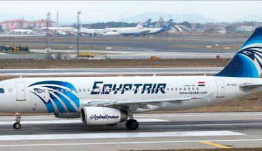 EgyptAir Airbus 320 (SU-GCC)