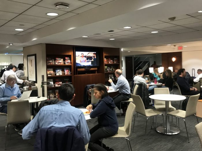 Dulles United Club Dining