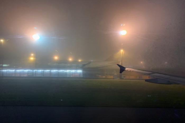 Frankfurt, Fog, SAS