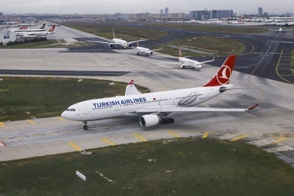 Port Harcourt, Turkish Airlines, Airbus A330