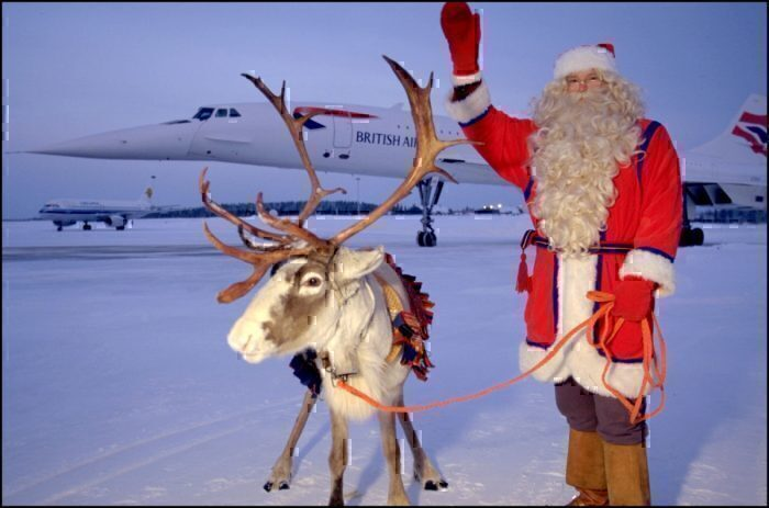 British Airways, Christmas, Holidays