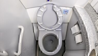 Aircraft toilet