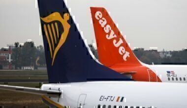 Ryanair, easyJet
