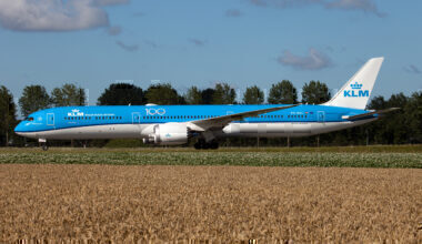 KLM 787 Getty