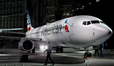American Airlines 737 Getty