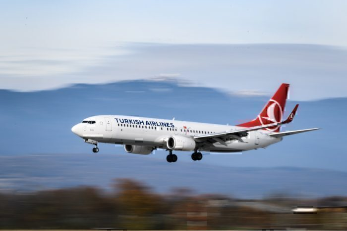Turkish Airlines Boeing