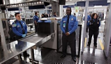 Security airport staff
