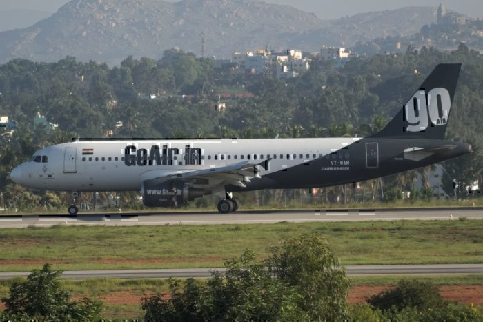 GoAir Airbus A320 Suffers Engine Issues On Departure