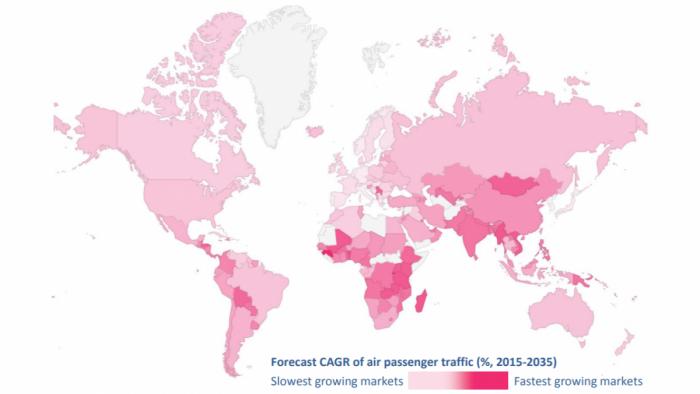 IATA COG map