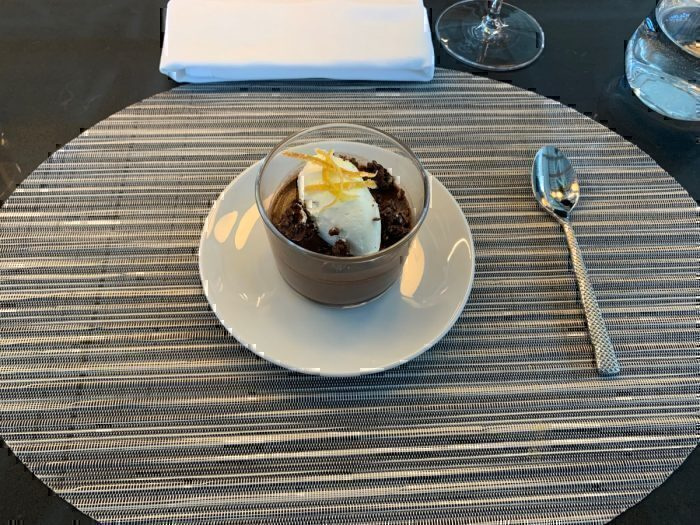 Dark Chocolate Budino