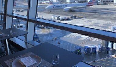American Airlines Menu