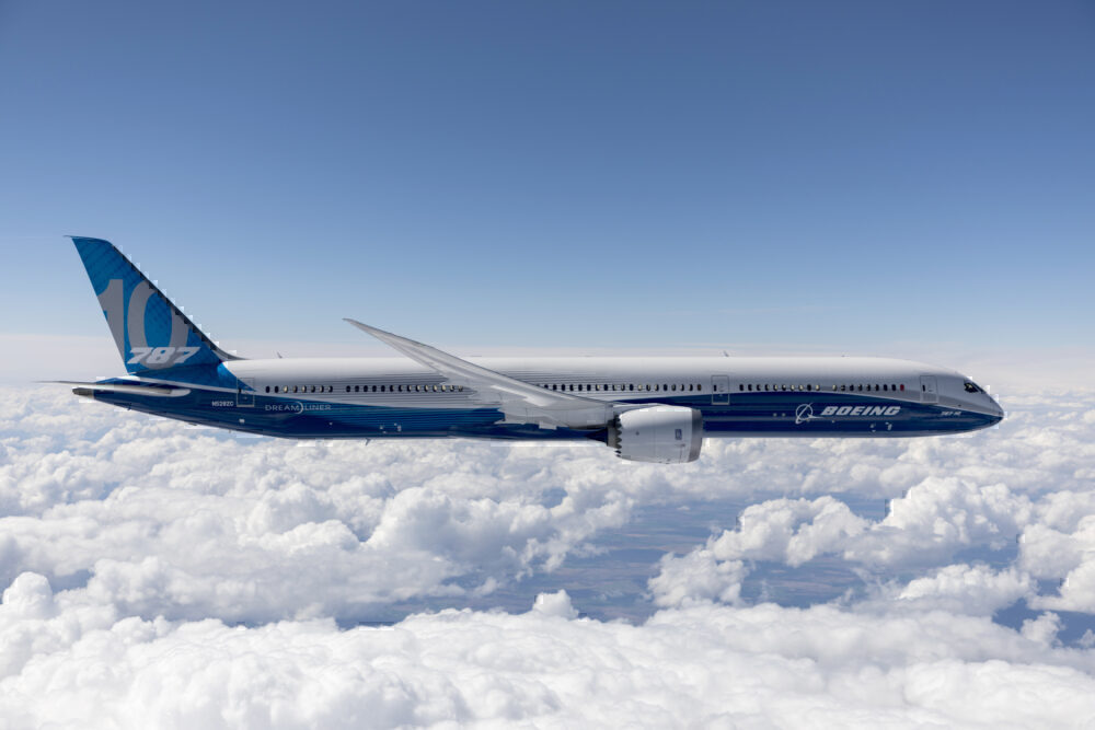 Boeing 787-10, Operators, Singapore Airlines