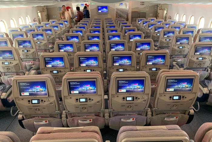 Emirates, Airbus A380, ICE