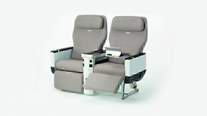 Juneyao Airlines, Airbus A320neo, Recaro