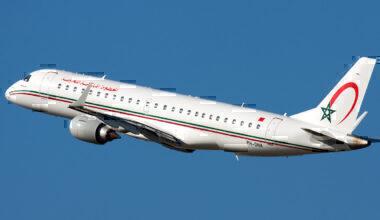 Royal_Air_Maroc_Embraer_190_taking_off_at_Bologna