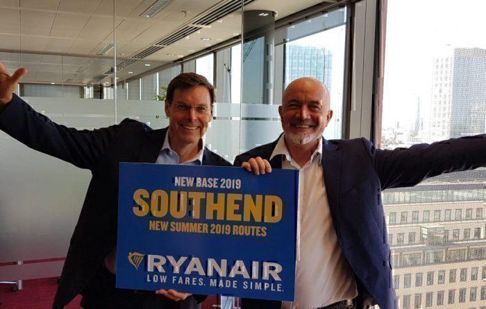 Ryanair southend