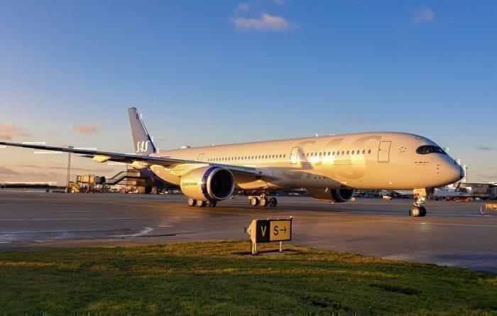 SAS A350 twitter