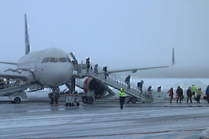 SAS first landing
