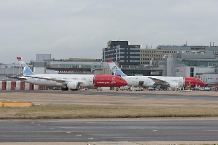 Norwegian 787s