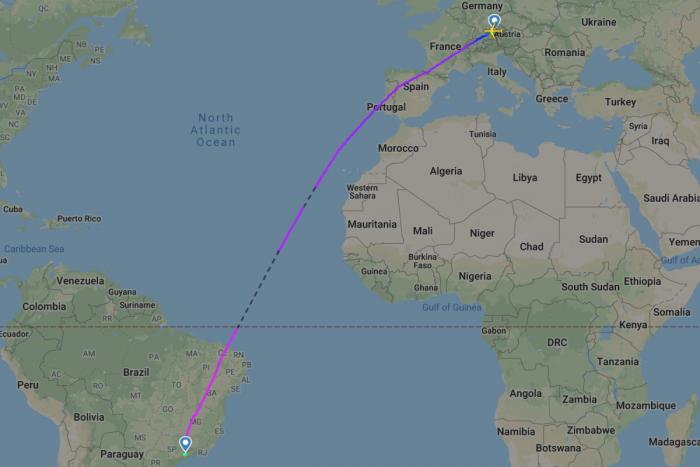 Lufthansa, Airbus A350, Munich, Sao Paulo