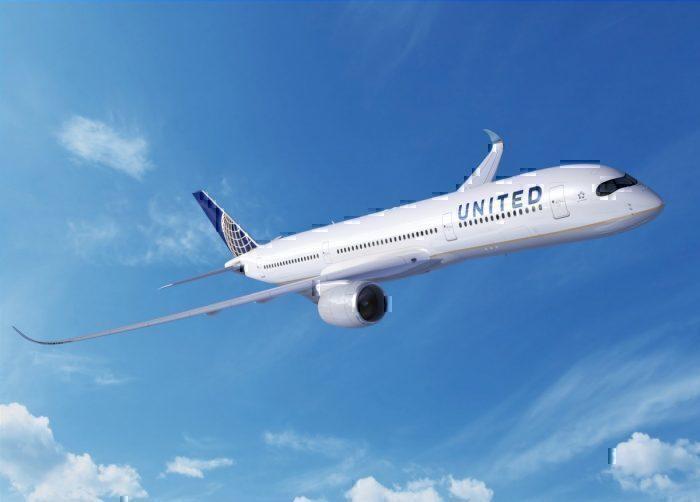 Unites airlines a350